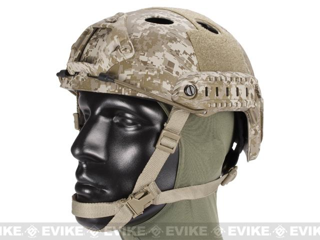Emerson FAST Type Tactical Airsoft Helmet (PJ Type / Advanced / Digital Desert)