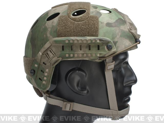6mmProShop Bump Type Tactical Airsoft Helmet (PJ Type / Advanced / Arid Foliage)