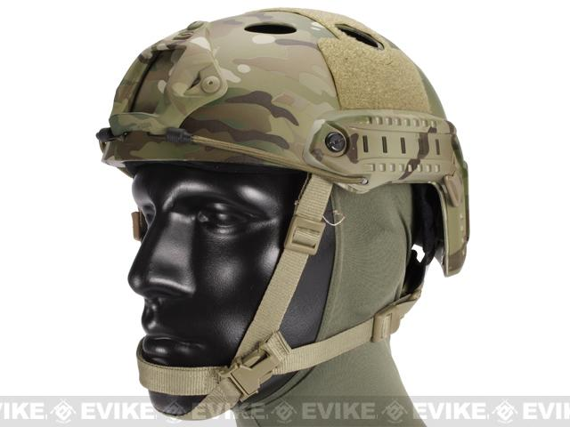Emerson FAST Type Tactical Airsoft Helmet (PJ Type / Advanced / Multicam)
