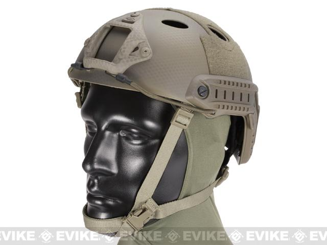 Emerson FAST Type Tactical Airsoft Helmet (PJ Type / Advanced / Navy Seal)