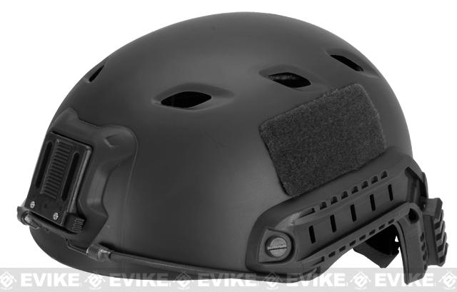 Base Jump Military Style Tactical Airsoft Helmet Type A - Black