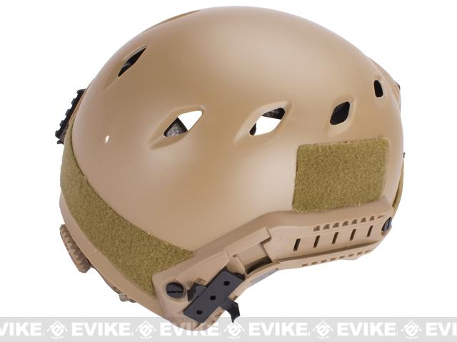 Base Jump Military Style Tactical Airsoft Helmet Type A - Dark Earth