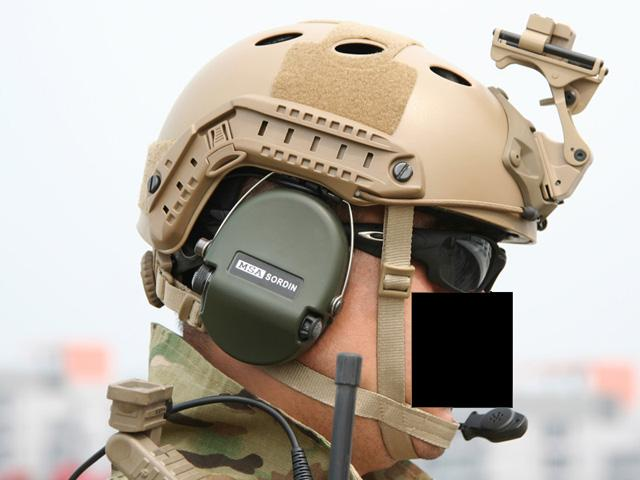 Emerson Bump Type Tactical Airsoft Helmet (BJ Type / Advanced / Black)