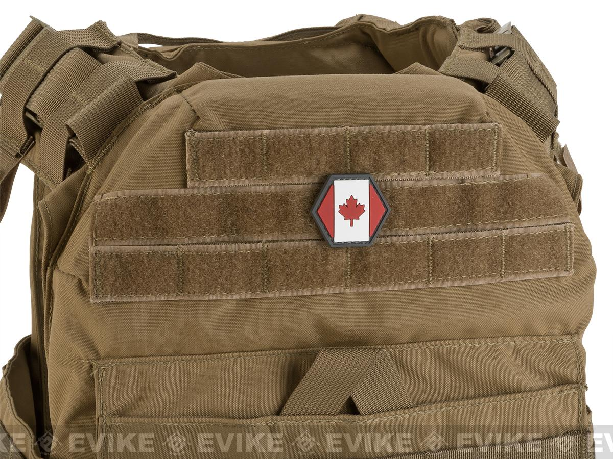 Operator Profile PVC Hex Patch Flag Series (Country: Canada)