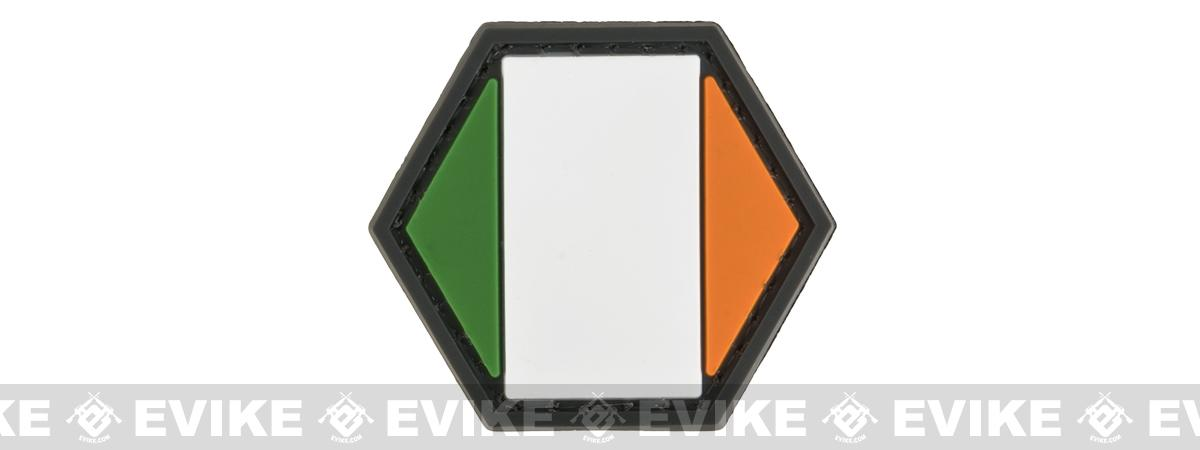 Operator Profile PVC Hex Patch Flag Series (Country: Ireland)