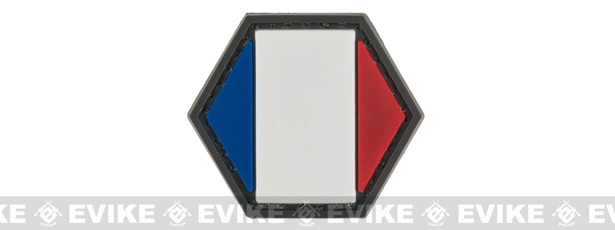 Operator Profile PVC Hex Patch Flag Series (Country: France)