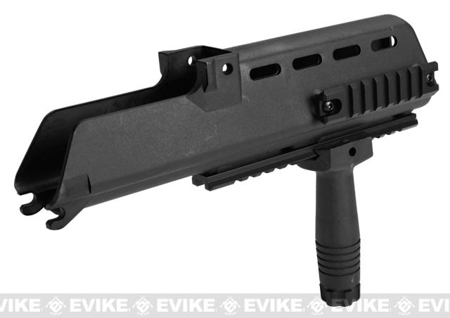 RIS Handguard Set for H&K G36 Series Airsoft AEG Rifles - Black