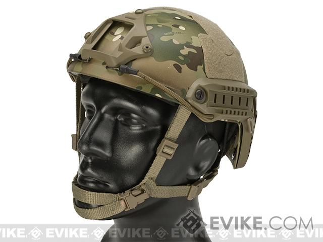 6mmProShop Bump Type Tactical Airsoft Helmet (MICH Ballistic Type / Advanced / Multicam)