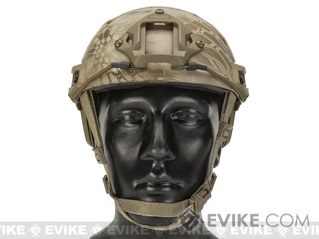 6mmProShop Bump Type Tactical Airsoft Helmet (MICH Ballistic Type / Advanced / Kryptek Nomad)