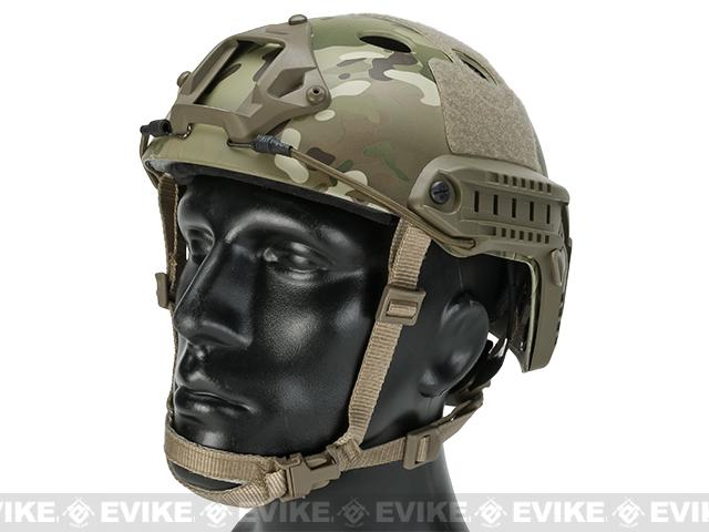6mmProShop Bump Type Tactical Airsoft Helmet (PJ Type / Advanced / Multicam)