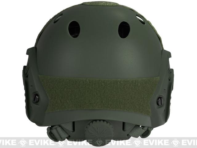 6mmProShop Bump Type Tactical Airsoft Helmet (Type: PJ / Advanced / OD Green)