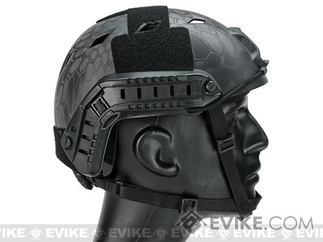 6mmProShop Bump Type Tactical Airsoft Helmet (Type: BJ / Advanced / Kryptek Typhon)