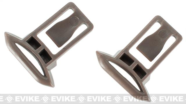 Emerson Replacement Standard Strap Clips for Bump Helmet Rails - Tan