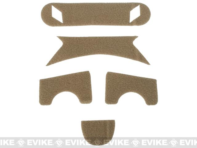 Emerson Loop Hook and Loop Adhesive Strips for BJ Type Bump Helmets - Tan