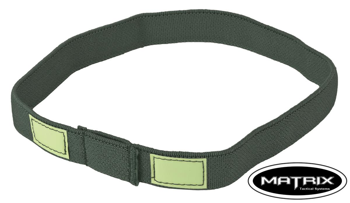 Matrix Reflective Helmet Cat Eye Band - (Size: Grey)