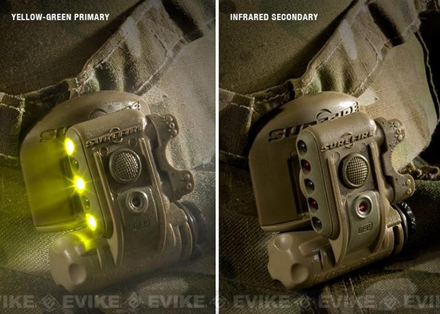 Surefire HL-1D Helmet Light Kit for MICH Helmets - Tan