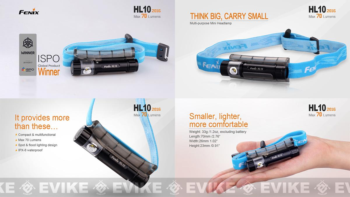 Fenix HL10 CREE XP-E LED Head Lamp (70 Lumens)
