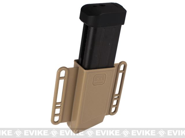 Avengers Mag Holster for Airsoft 5.1 Hi-Capa (Double Stack) Series Magazines - Set of 2 / Tan