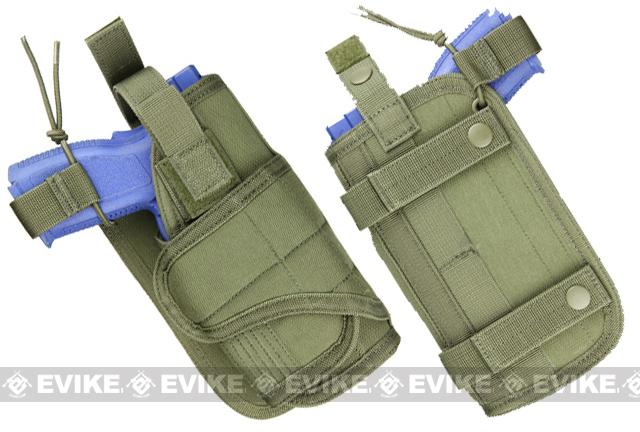 Condor Horizontal MOLLE Ready Holster - OD Green