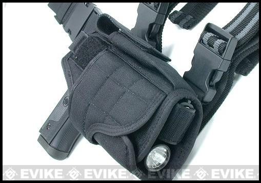 Guarder Tornado Universal Tactical Thigh / Drop Leg Holster (Digital Woodland)