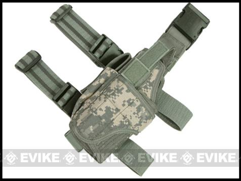 Matrix Tornado Universal Tactical Thigh / Drop Leg Holster (ACU / Left)