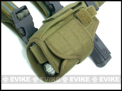 Matrix Tornado Universal Tactical Thigh / Drop Leg Holster (Coyote Tan / Left)