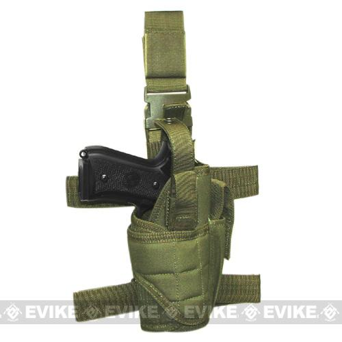 Matrix Tornado Universal Tactical Thigh / Drop Leg Holster - OD Green