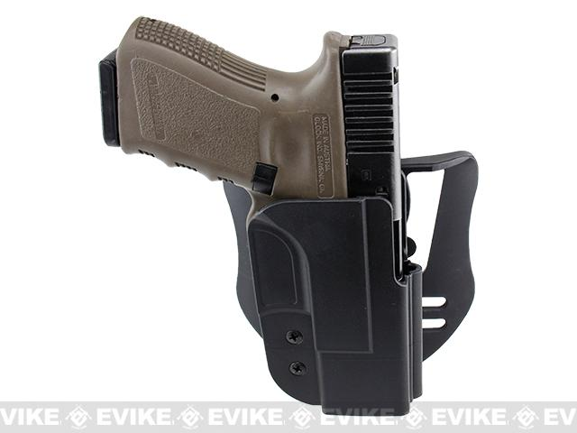 Blade-Tech Revolution Paddle Holster w/ Adjustable Belt Attachment - Glock 19 / 23 / 32 (Right Hand - Black)