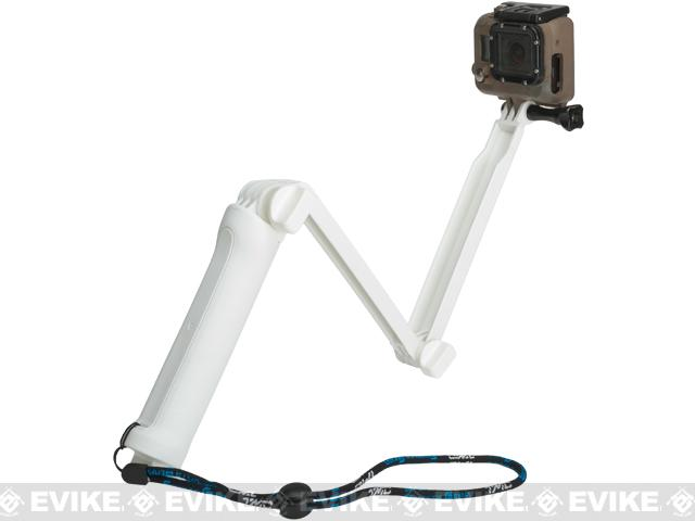 TMC Adjustable Extension Arm for GoPro Action Cameras - White
