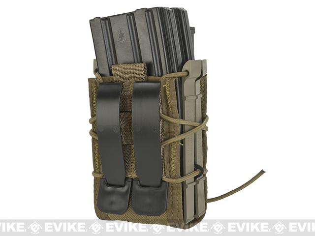 HSGI X2R/P TACO® Modular Double Rifle Magazine Pouch with Single Pistol Magazine Pouch - Coyote Brown