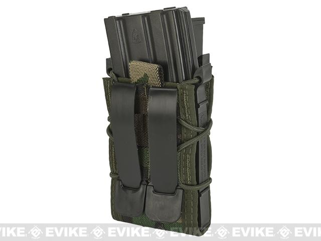 HSGI Double Decker TACO® Modular Single Rifle and Pistol Magazine Pouch - Woodland Camo