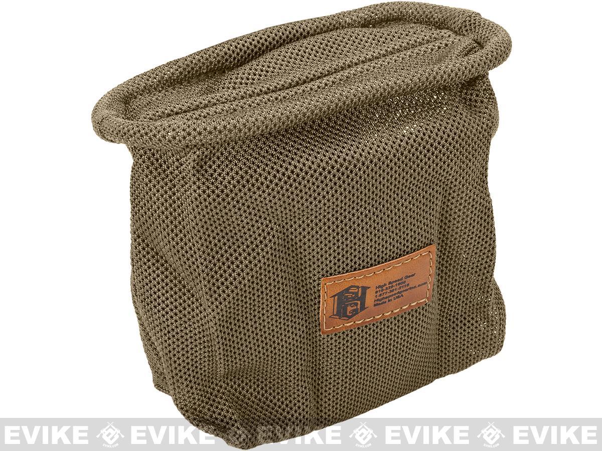 HSGI Mag-Net Tactical Mesh Dump Pouch - Smoke Green