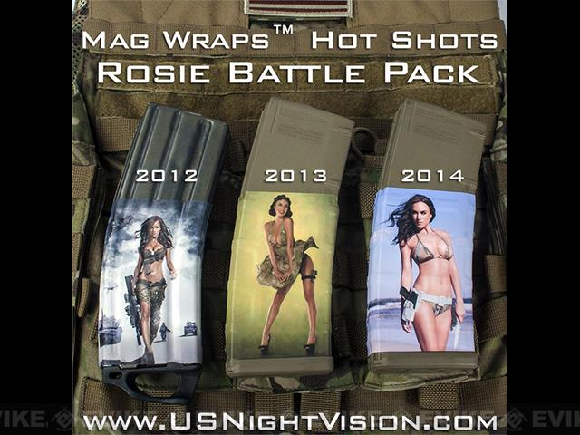 US NightVision Mag Wraps™ Hot Shots - Rosie Battle Pack