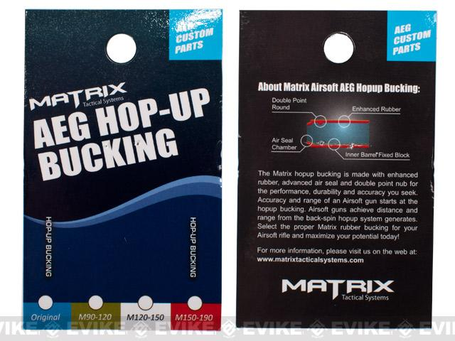 Matrix Advanced - Silica Airsoft AEG Hopup Buckings (Set of 2) - 80 Degree / 480~630 FPS