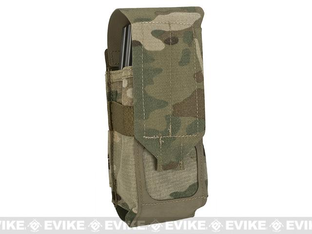 Blue Force Gear Ten-Speed Single Stack Double M4 Mag Pouch - Multicam
