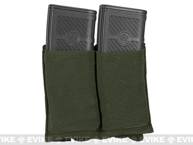 Blue Force Gear Ten-Speed Double M4 Mag Pouch - Camo Green