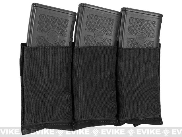 Blue Force Gear Ten-Speed Triple M4 Mag Pouch - Black