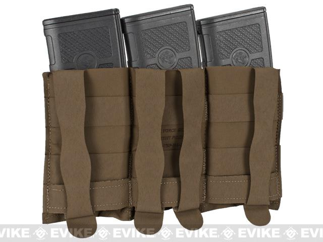 Blue Force Gear Ten-Speed Triple M4 Mag Pouch - Coyote Brown