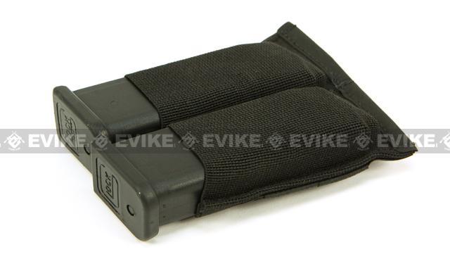 z Blue Force Gear Ten-Speed Double Pistol Mag Pouch - Black