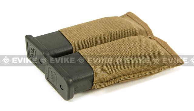 Blue Force Gear Ten-Speed Double Pistol Mag Pouch - Coyote Brown