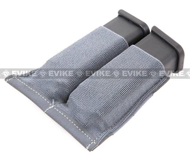Blue Force Gear Ten-Speed Double Pistol Mag Pouch - Wolf Grey
