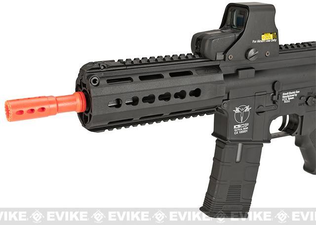 ICS CXP-15 Keymod Sportline Airsoft AEG Rifle - Black