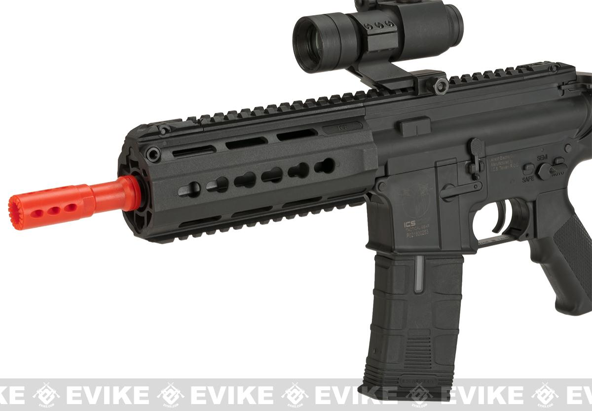 ICS CXP-15 Keymod Sportline Airsoft AEG Rifle with Crane Stock - Black