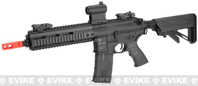 ICS PAR MK3 Carbine 10.5 Proarms Armory Licensed Proline EBB Airsoft AEG Rifle - Black