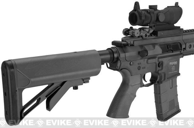 ICS PAR MK3 Carbine 16.75 Proarms Armory Licensed Proline EBB Airsoft AEG Rifle - Black