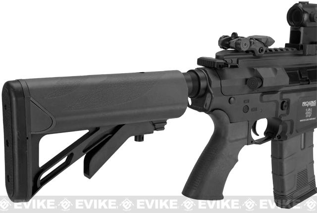ICS PAR MK3 CQB 10.5 Proarms Armory Licensed Proline EBB Airsoft AEG Rifle - Black