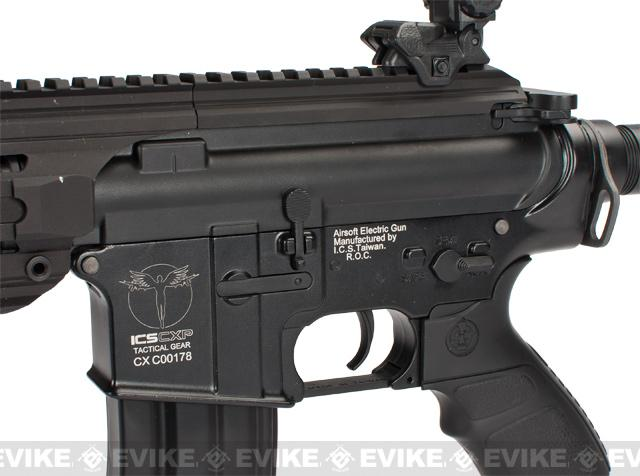 z ICS CXP16S Full Metal Airsoft AEG Rifle - Black