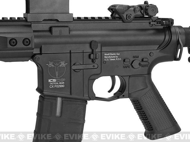 ICS CXP Pro Line Transform-4 264-1  Keymod Electric Blowback Airsoft AEG Rifle - Black (Rear Wire)