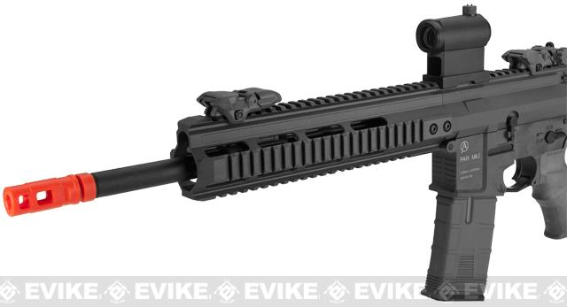 ICS PAR MK3 MTR 14.5 Proarms Armory Licensed Proline EBB Airsoft AEG Rifle - Black