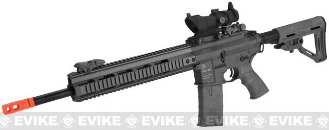 ICS PAR MK3 MTR 16.75 Proarms Armory Licensed Proline EBB Airsoft AEG Rifle - Black